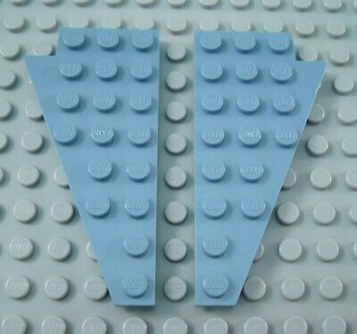 LEGO Pair of Light Gray 4x8 Airplane Wings