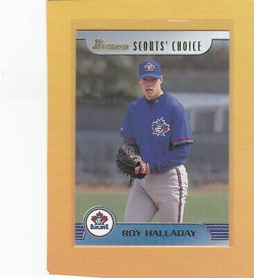 1999 Bowman Scouts Choice Roy Halladay #Sc20 Blue Jays Nmmt *66121