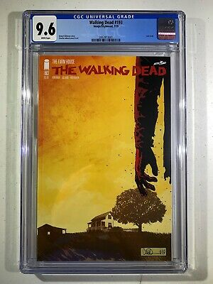 The Walking Dead #193 (2019 Skeybound Image) Last Issue 1st Print CGC 9.6