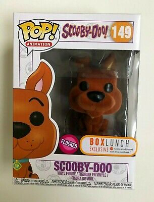 Funko Pop SCOOBY-DOO (Flocked) Box Lunch EXCLUSIVE #149 NIB