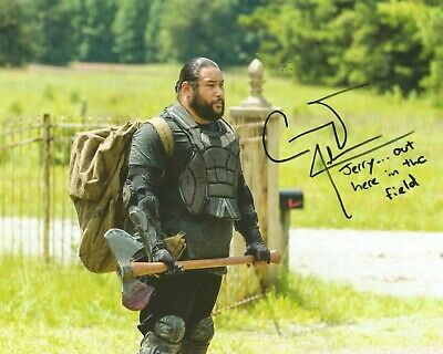 Cooper Andrews 'The Walking Dead' Autographed Signed Inscribed 8x10 Photo GTP