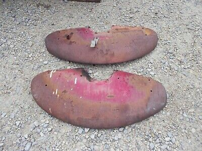 Farmall Cub RC Tractor IH pair set of fenders ORIGINAL