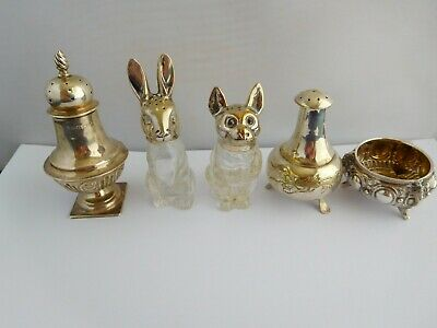 Nice Collection Of Condiment Pots