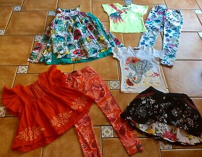 MustSee Designer * Catimini * Four Designer Outfits * Gorgeous & Colourful * 8yr