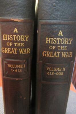 A History of the Great War ~ Bertram Benedict ~ Published 1919 ~ First Edition