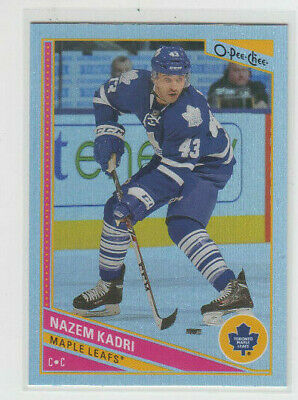 13/14 OPC Toronto Maple Leafs Nazem Kadri Rainbow card #228