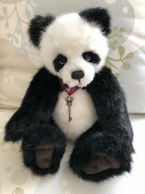 """Charlie Bear Panda """"Teardrop"""" 2016 Collection - Rare & Retired by Isabelle Lee"""