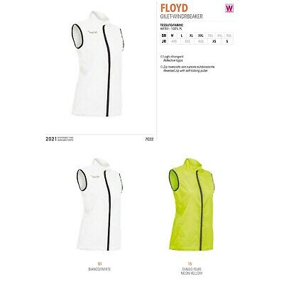 GIACCA K-WAY ANTIVENTO RUNNING ATLETICA DONNA GILET FLOYD - MACRON - Da XS a 2XL
