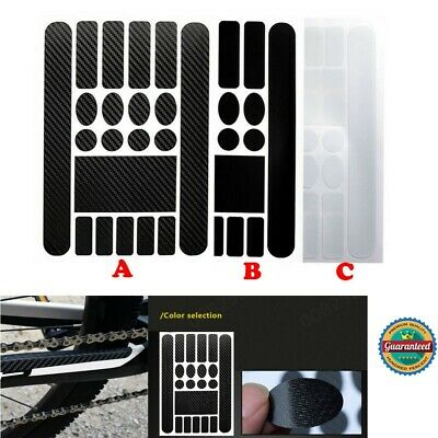 MTB Bike Chainstay and Frame Scratch Protector Bicycle Sticker Protective C8R8