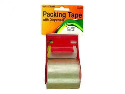 Packing Tape with Dispenser - 24 packs