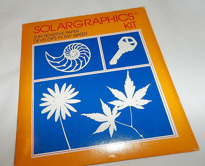 SOLARGRAPHICS Kit 10 x 11cm Papers  - Opened, Partially Used