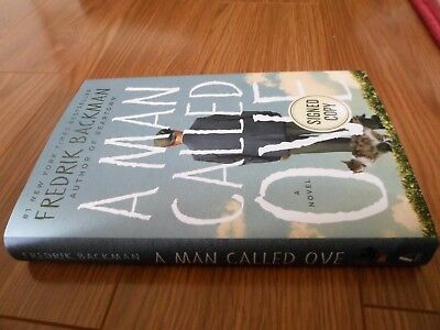 FREDERIK BACKMAN SIGNED - A MAN CALLED OVE - Limited First Hardcover Edition NEW