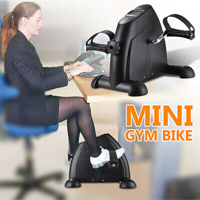 OneTwoFit Mini Pedal Stepper Bike Exercise Cycle Fitness 4 Legs LCD DisplayOT068
