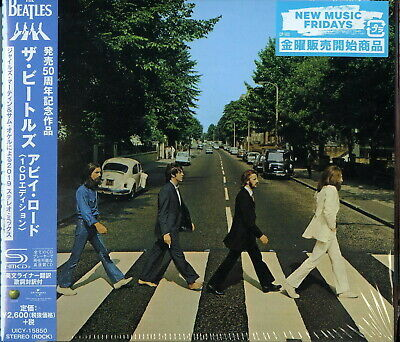 Beatles-Abbey Road-Japan Shm-Cd F83