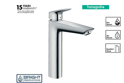 Genuine Hansgrohe Logis Single lever basin mixer 190