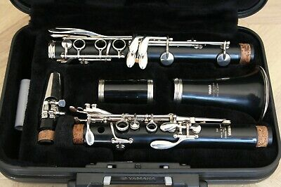Yamaha Bb YCL-26II clarinet for student or intermediate players + 6C mouthpiece.