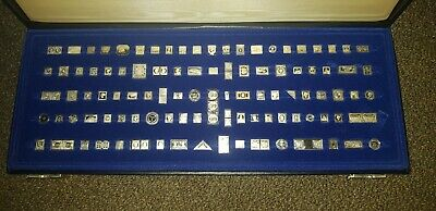 The 100 Greatest Stamps Of The World Franklin Mint In Silver