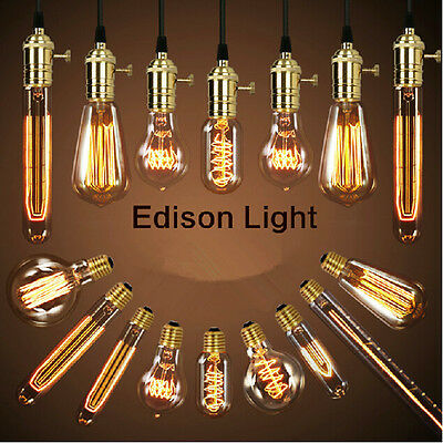 Filament Light Bulbs Vintage Retro Antique Industrial Style edison Lamp
