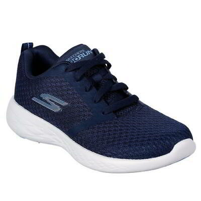 Skechers Go Run 600 Womens Ladies Blue Running Trainers Walking Shoes Size 4-8