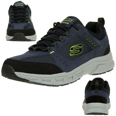 SKECHERS RELAXED FIT OAK CANYON Herren Outdoor Sneaker blau