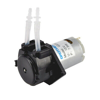 Security 12V Dosing pump Peristaltic Head for Analytical Water Aquarium Lab Tool