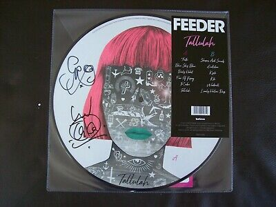 Feeder - Tallulah Picture Disc Vinyl LP - Signed Edition Brand New