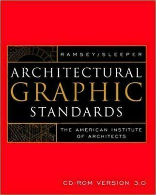 Architectural Graphic Standards CD-ROM ver. 3.0 (instant download)