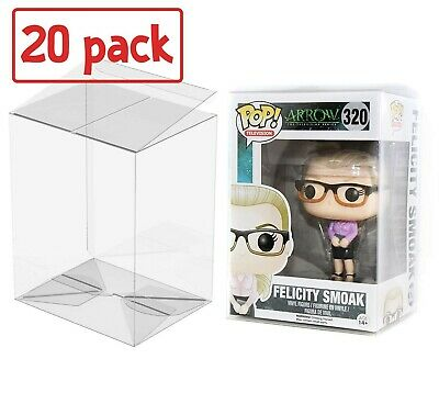 """PLAYOLY Pop Protector Case for Funko - 4"""" Inch Pop! Vinyl Figures, Strong Pop..."""