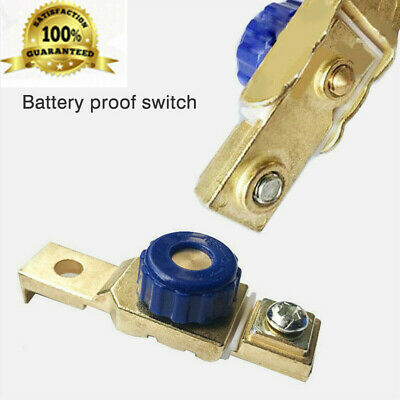 2* Car Motorcycle Disconnect Battery Cut Off Kill Terminal Anti-leakage Switch