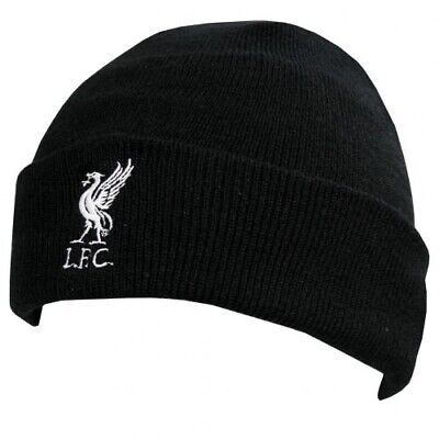 Liverpool F.C - Adult Knitted Hat (TU BLK) - GIFT