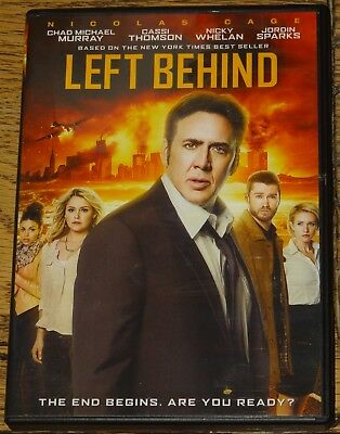 Left Behind 2014 Nicolas Cage With Subtitles Genuine R1 Dvd Ships From Uk