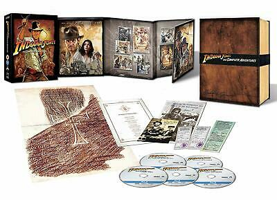Blu-Ray Indiana Jones - The Complete Adventure - Collector'S Edition (5 Blu-Ray)