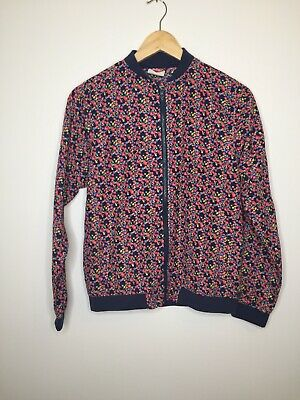 Girls Lee Cooper Jacket Age 13 Years Floral Bomber Smart Pretty Flowers