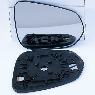 For Lexus CT 200h 2011-2017 Right Driver side wing mirror glass with plate