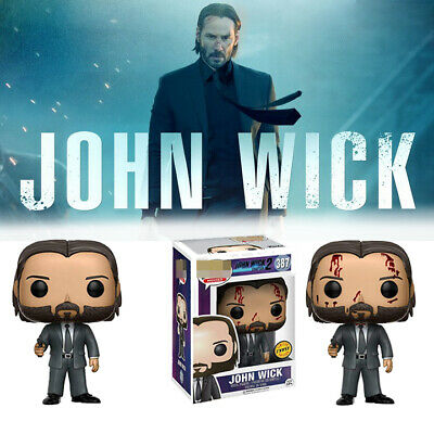 Funko pop JOHN WICK 387# Vinyl Action & Toy Figures Collectible Model Toy