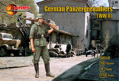 Mars 1/32 German Panzergrenadiers (WWII) # 32018