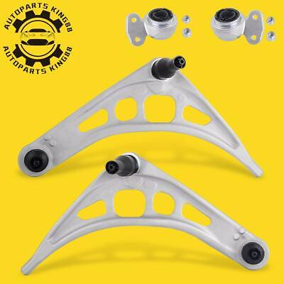 Front Lower Control Arms w/ Bushings Left & Right for BMW E46 323i 325i 330Ci Z4