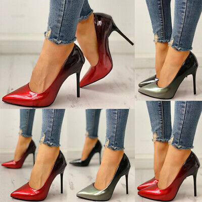 Womens Sexy High Heels  Stiletto Pointed Toe Ladies Wedding Party Office Shoes