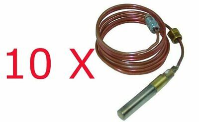 """10 X THERMOPILE COAXIAL SCREW IN, 60"""" 250-750 MV replaces Robert Shaw 1951-560"""