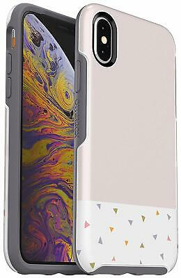 OtterBox Symmetry Series Protective Case iPhone XS Max, Party Dip Easy-Open Box