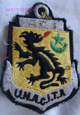 In13875 - Patch Union Nationale Des Anciens Combattants D'indochine & Toe