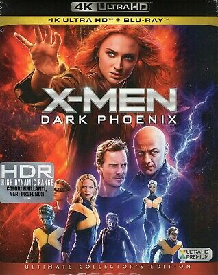X-Men: Dark Phoenix 4K Ultra HD (2019) 2 Blu Ray