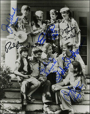 The Waltons Tv Cast - Autographed Signed Photograph With Co-Signers