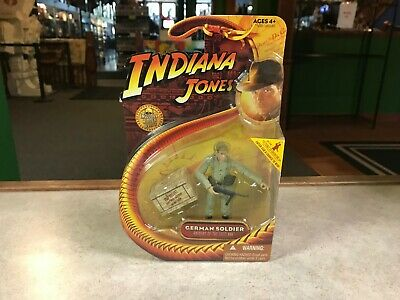 "2008 Hasbro Indiana Jones GERMAN SOLDIER 3.75"" Inch Figure MOC"