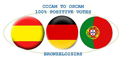 CCCAM & OSCAM Germany, Spain, Portugal, best price!
