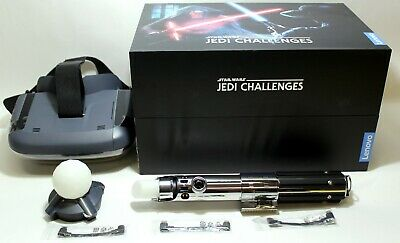 Lenovo Star Wars™ Jedi Challenges - AR Headset w/ Lightsaber Controller Black
