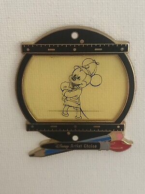 Disney Pin Artist Choice 2004 Alex Maher LE 1000 Litho Hunter Mickey Event Excl