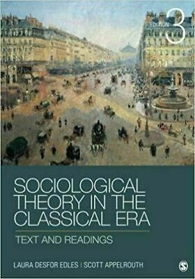 [P.D.F] Sociological Theory in the Classical Era Text and Readings Third Edition