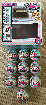 Lot of 10 *In Hand* LOL Surprise Winter Disco Series FLUFFY PETS Balls SEALED!