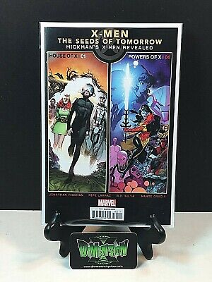 House Of X  1 & Powers Of X 1 Seeds Of Tomorrow Promo Marvel Comic 2019